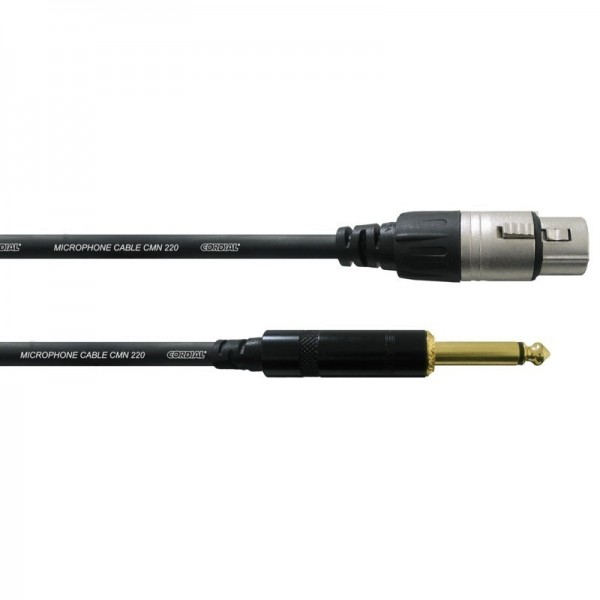 Cablu microfon CORDIAL CCM 5 FP