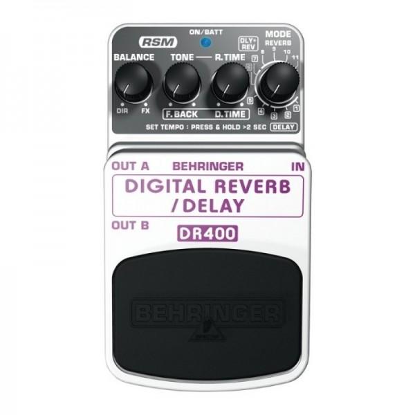 Procesor chitara BEHRINGER DR400 Digital Reverb/Delay