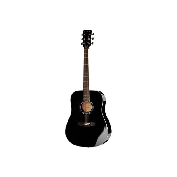Chitara acustica stangaci Harley Benton D-120LH BK