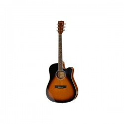 Chitara electro-acustica Harley Benton D-120CE VS