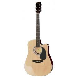 Chitara electro-acustica Fender SA-105 CE Natur